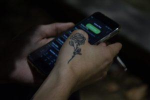 Smartphone & Cigarette