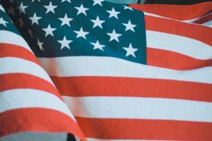 american flag zoom